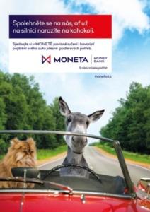 Kampaň Autopojištění - MONETA
