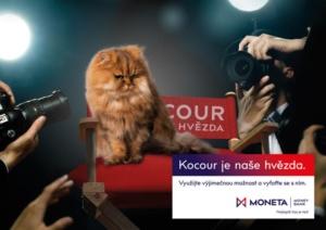 Kampaň Kocour je naše hvězda - MONETA