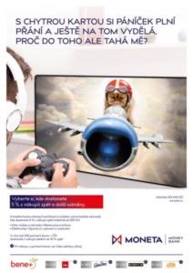 Kampaň MoneyCard Smart - MONETA