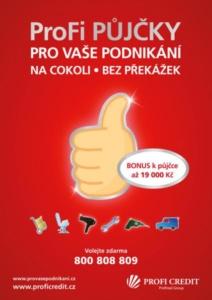 Kampaň Profi půjčky - Profi Credit
