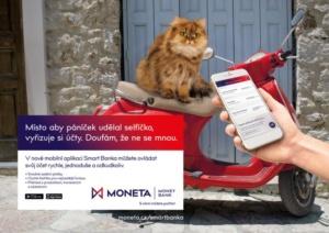 Kampaň Smart Banka - MONETA