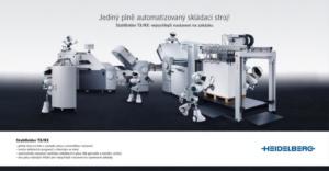 Kampaň Stahlfolder automatizace - Heidelberg