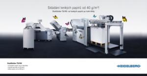 Kampaň Stahlfolder flexibilita - Heidelberg