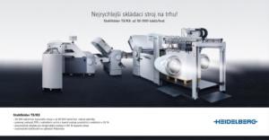 Kampaň Stahlfolder rychlost - Heidelberg