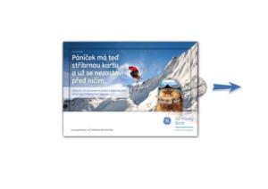 Kampaň kreditní karta - GE Money Bank