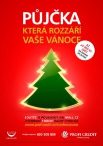 Vánoční kampaň - Profi Credit 01
