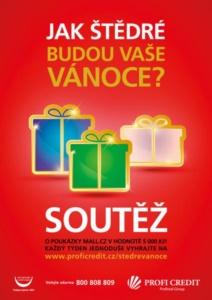 Vánoční kampaň - Profi Credit