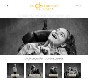 Webové stránky - DC Paprsek